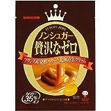 味覚糖   ノンシュガー贅沢なゼロキャラメルミルク 味  80G×6袋
