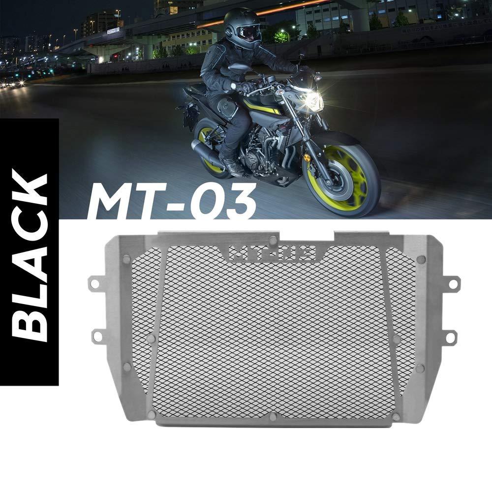cromo aluminio de la rejilla del radiador de la motocicleta Protector de la cubierta de la parrilla Protector de repuesto para CB500X 2019-2020 Yctze Rejilla del radiador de la motocicleta