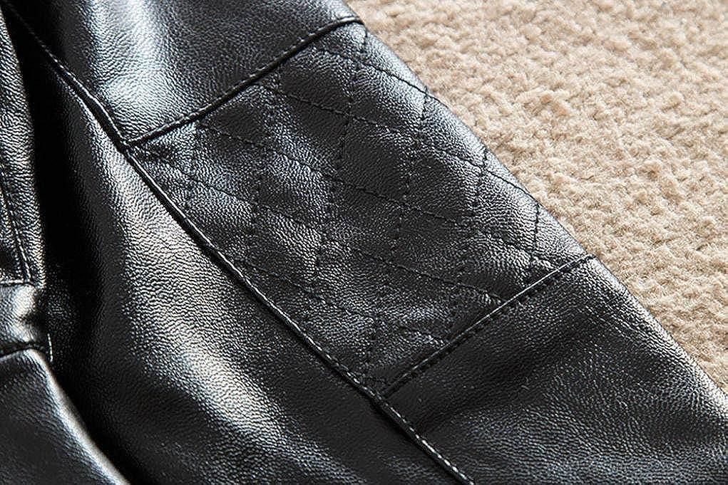 Perman Kids Infant Baby Faux Leather Jacket Zipper Hooded Coats Outwear Coat