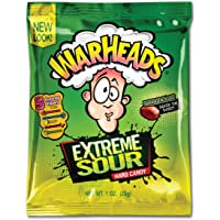 Warheads Extreme Sour Hard Candies, 12 x 28 Grams