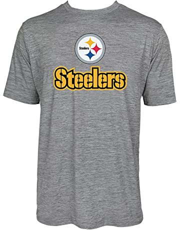 34787fa72b2 Zubaz Men's Officially Licensed NFL Solid Gray T Shirts