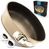 Zulay Premium 9 Inch Cheesecake Pan (Gold)