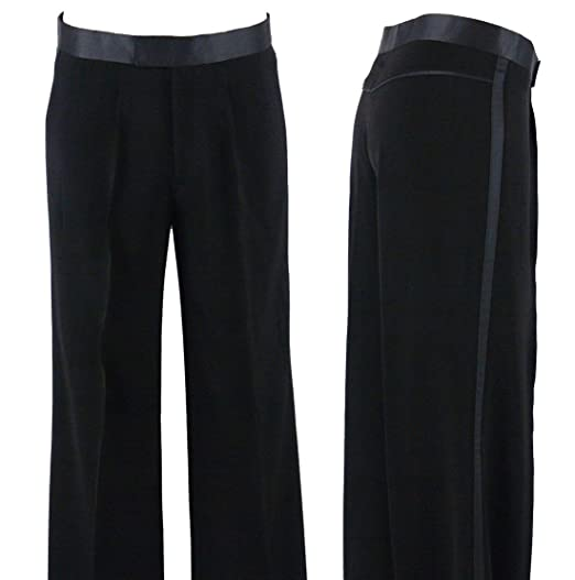 5ebaf339cec02 MDP109 Mens Ballroom Latin Competition Practise Dance Pants
