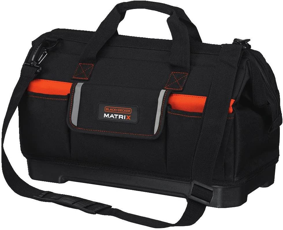 BLACK+DECKER Tool Tote Bag