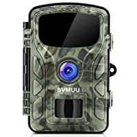 """SVMUU Wildkamera 14 MP 1080P Jagdkamera Beutekameras 2.4"""" LCD mit 940nm IR LED's Sensoren mit Bewegungsaktivierung, neue Version der Nachtsicht mit bis zu 65ft/20m IP66 wasserdichtes Design zur Wildbeobachtung und Haussicherheit"""