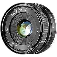 Neewer 32mm F/1.6 Enfoque Manual Objetivo Principal Afilado Alta Apertura, Compatible con Sony E-Mount APS-C Cámara como SONY A7III A9 NEX 3 3N 5 NEX 5T NEX 5R NEX 6 7 A5000 A5100 A6000 A6100 A6300 A6500