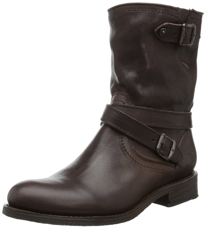 9ff61bcb575aa3 FRYE Women s Jayden Cross Engineer US Dark Boot B00BG0FRZ6 6 B(  Teva-Tirra- Leather-Women-Leather-Matt-Rust-Strappy-  Teva Womens Size 11 ...