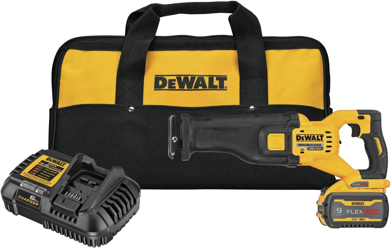 DEWALT FLEXVOLT 60V MAX Cordless Reciprocating Saw Kit (DCS389X1)
