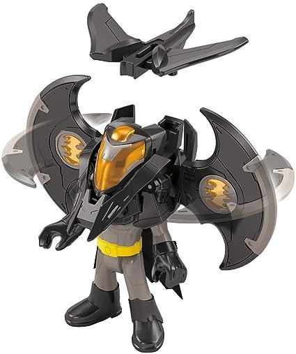 Tv, Movie & Video Games Action Figures Clever Imaginext Batman Battle Shifterz Batman Figure
