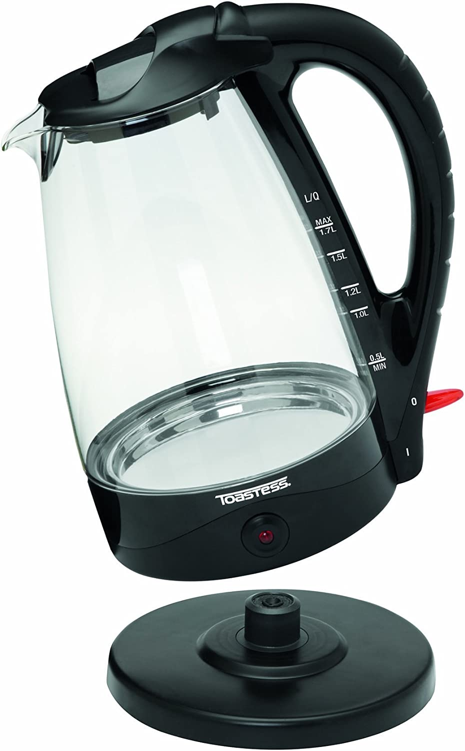 Toastess TGK486 Cordless Glass Kettle