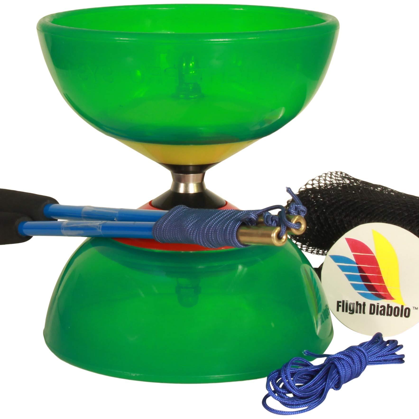 Flight Pro System 5: Triple Bearing Full Sized 5 Chinese Yoyo Diabolo Skill Toy by Flight Diabolo