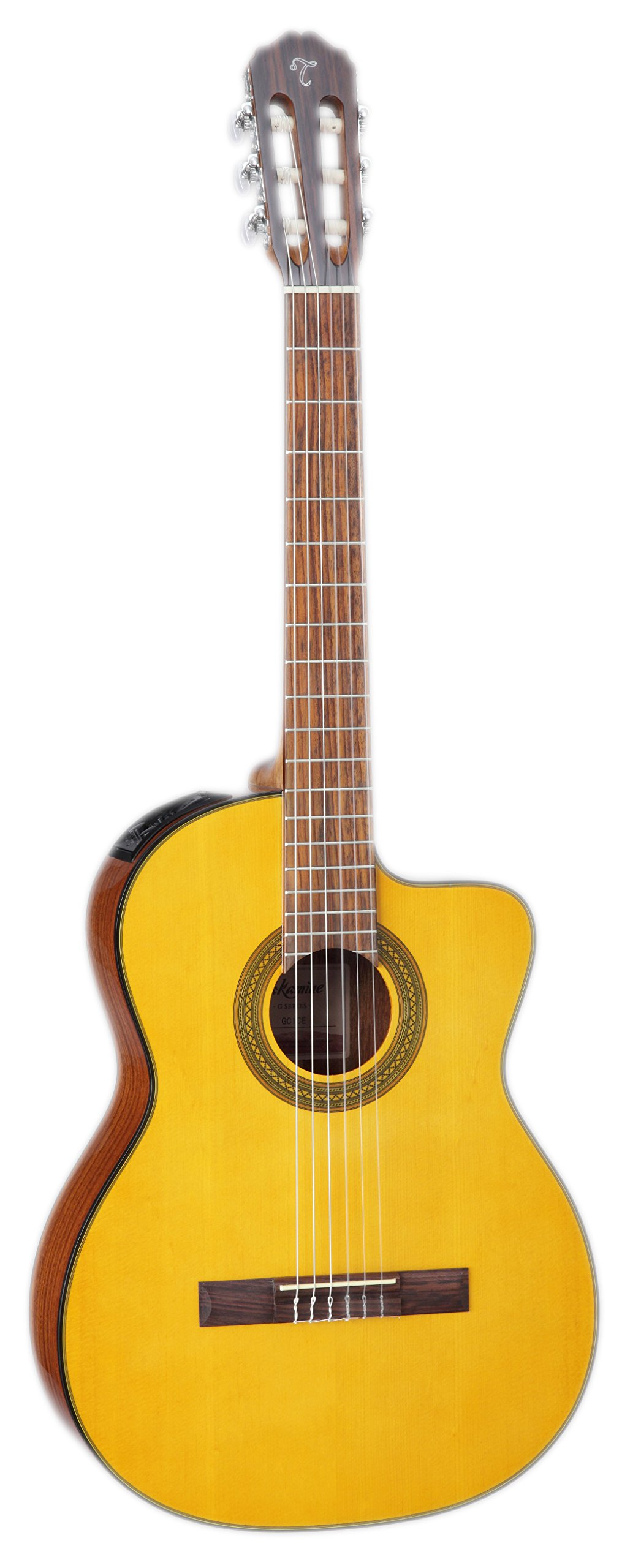 Takamine GC1CE NAT Classical Acoustic-Electric Guitar, Natural