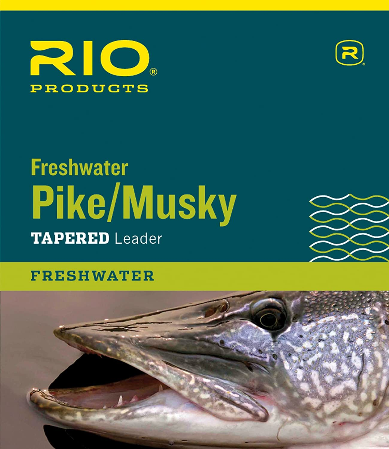 transparent Rio Fly Angeln Pike//KY II 7,5/9,1/kg Class 6,8/kg Edelstahl Draht mit Snap Angeln Leaders