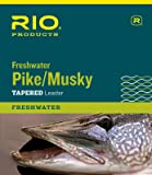 RIO Pike/Musky II 7.5' Tapered Leader Wire With Snap Link