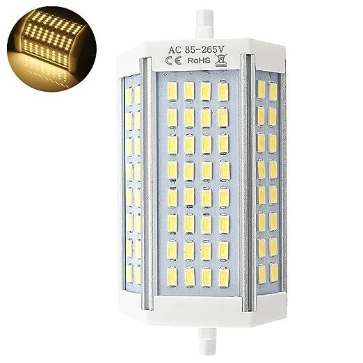 102 opinioni per Bonlux 30W R7S lineare del tubo 118mm Lampada a LED Dimmerabile Bianco Calda