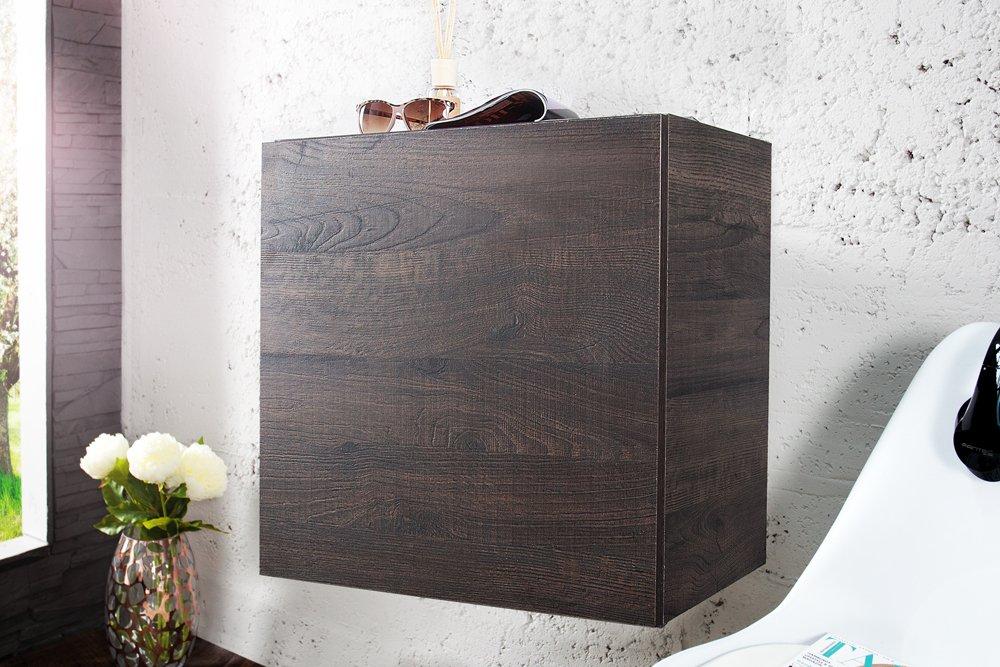 Moderner Design Cube Wenge Hangewurfel Made In Italy Schrank