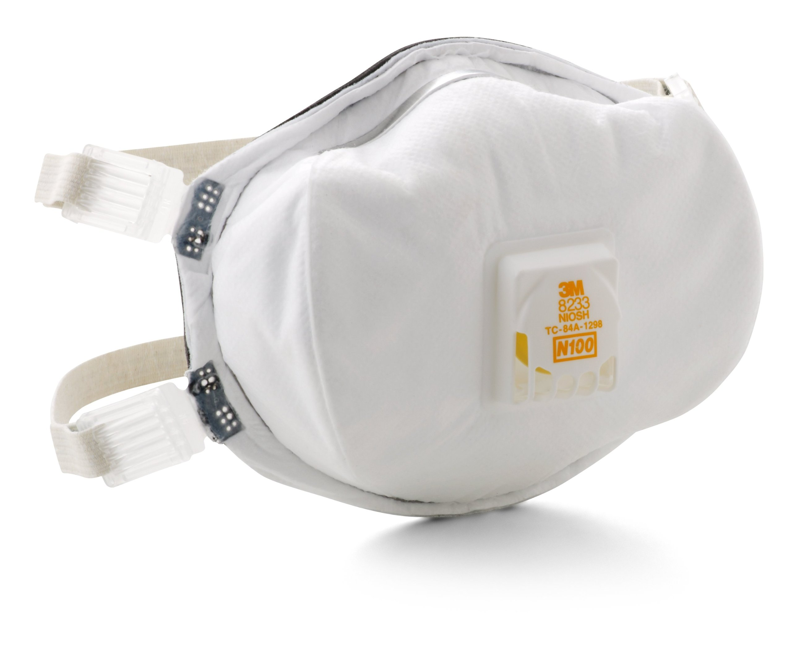 3M 8233PA1-A-PS Lead Paint Removal Valved Respirator by 3M (Image #4)