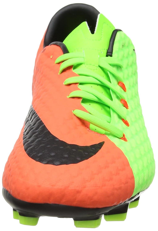 Electric Grün Hyper Orange Volt Schwarz 852556308 Fussballschuhe Nike Hypervenom Phelon III FG Einzigartig Designed