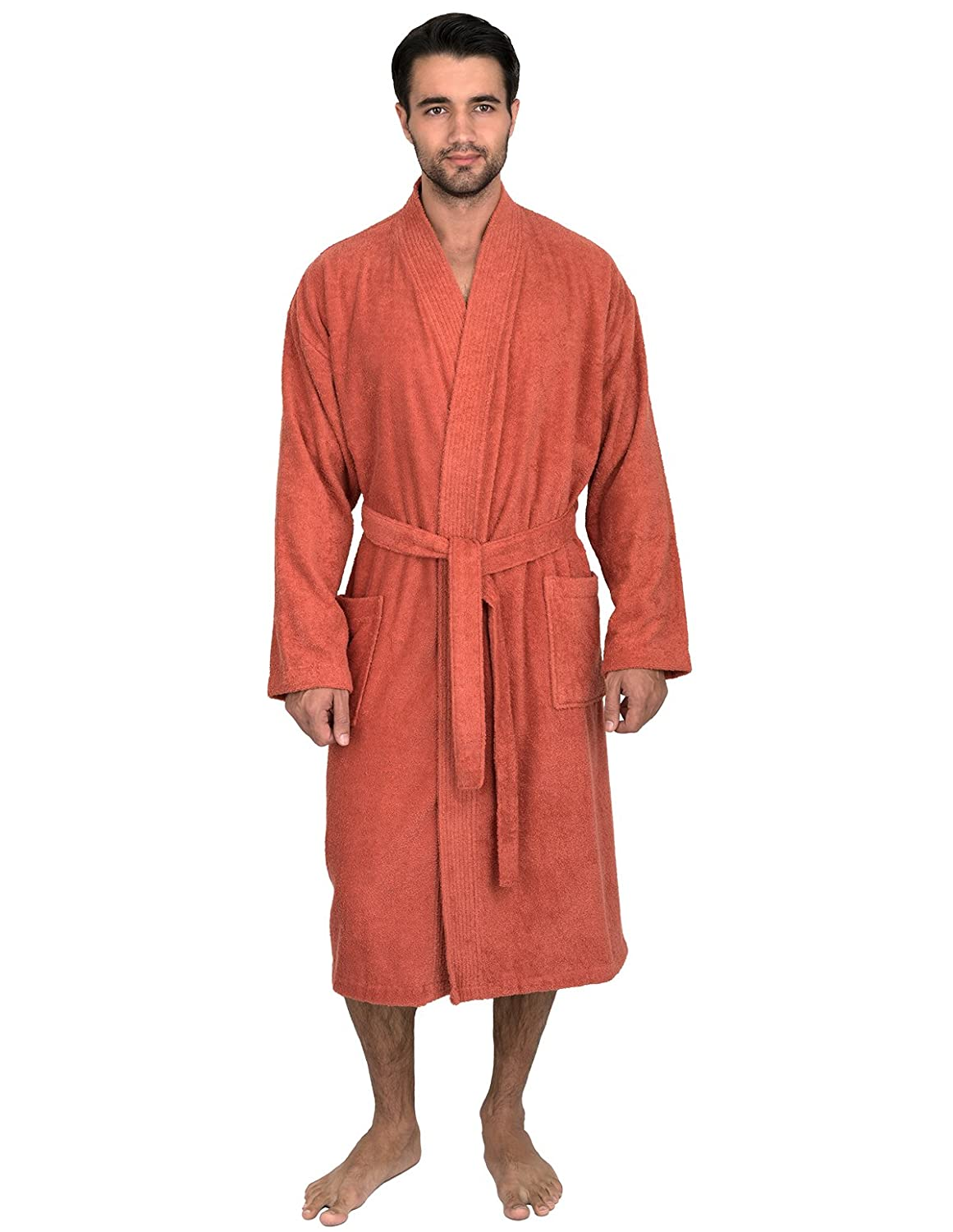TowelSelections SLEEPWEAR メンズ B01LX7PSYS Small / Medium|Ginger Spice Ginger Spice Small / Medium