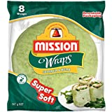 Mission Foods Spinach and Herb 8 Wraps,576.0 g