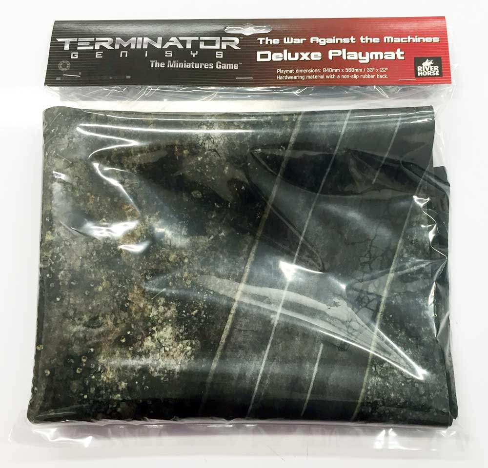 Barato Terminator Genisys, Terminator Deluxe Tapis de jeu