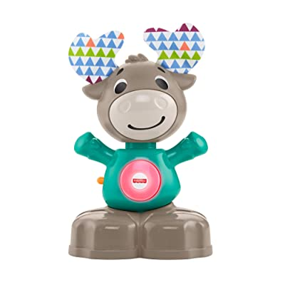 Fisher-Price Linkimals Musical Moose - Interactive Educational Toy with Music and Lights for Baby Ages 9 Months & Up: Toys & Games
