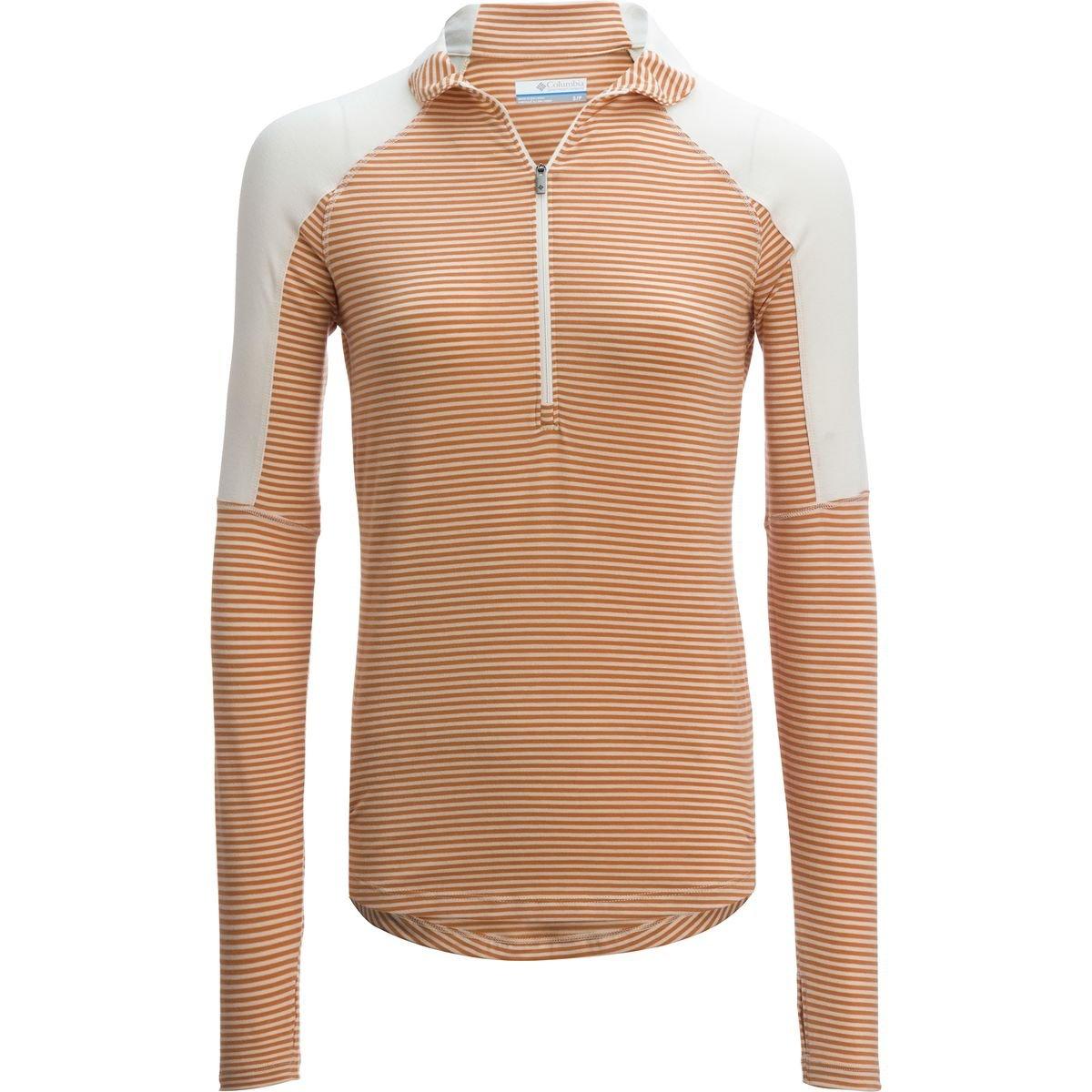 (コロンビア) Columbia Layer Upward 1/2-Zip Shirt - Women'sレディース バックパック リュック Chalk [並行輸入品] B074K2T7T9  S