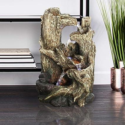 Amazon Com Peterivan Feng Shui Tabletop Fountain 14 1 5 H 5 Stream