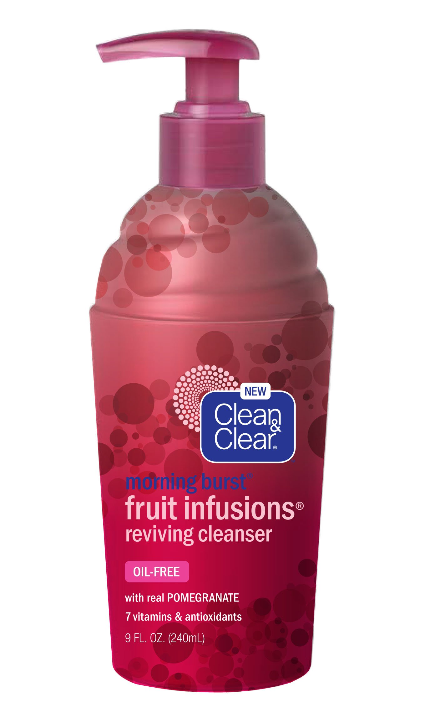 Johnson & Johnson Clean & Clear Morning Burst Fruit Infusions Hydrating Cleanser, 9 oz E-CURE (ALL IN ONE CARE) Intensive Shaping & Moisturizing Mask