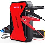 DBPOWER 1000 Amp 12-Volt Portable Lithium Jump Starter - UP to 7.0L Gasoline, 5.5L Diesel Engine, Car Battery Jump Starter Pa
