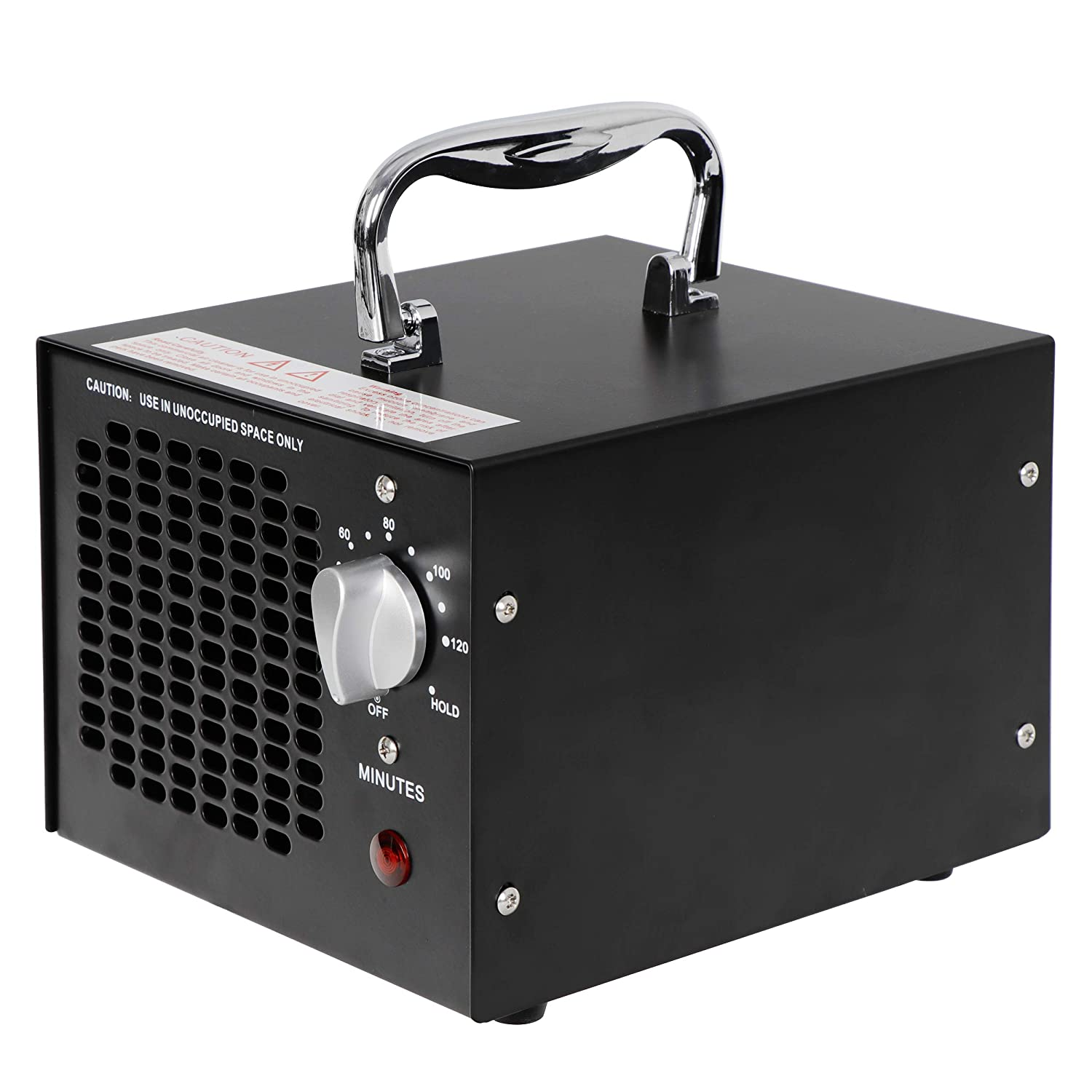 Oteymart 5000mg Commercial Ozone Generator Industrial Air Ionizer Eliminator Machine Home Air Deodorizer for Rooms Cars and Pets Room Black Smoke