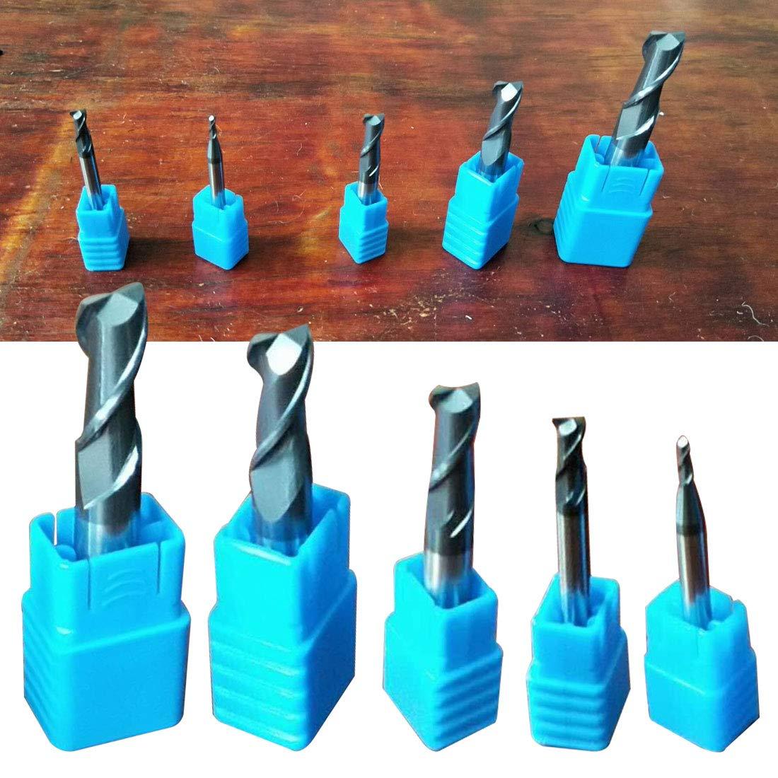 6mm 1 st/ück Fr/äser 4 Fl/öte Wolfram Stahl Schaftfr/äser Zylinderschaft Vollhartmetall CNC Fr/äser 2//3//4//5