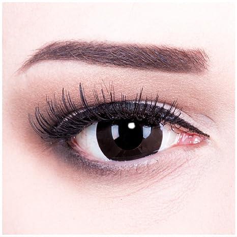 Colores Mini esclerótica Contacto lente Lenses Incluye 60 ml Solución combinada y depósito, suave sin