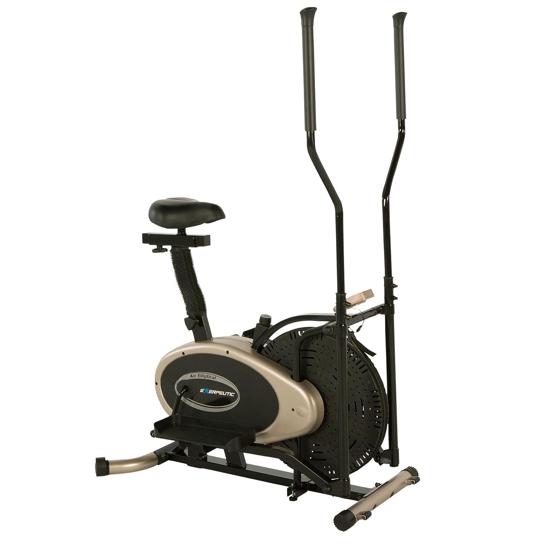 Exerpeutic Paradigm Health and Wellness 7102 Oro Elíptica y Bicicleta Estática Entrenador de Dual: Amazon.es: Deportes y aire libre