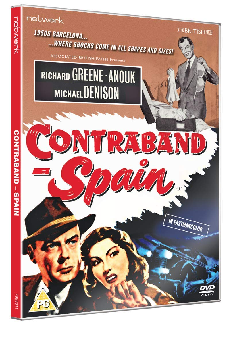 Contraband - Spain [DVD] [Reino Unido]: Amazon.es: Richard Greene, Anouk, Michael Denison, Jose Nieto, John Warwick, Lawrence Huntington, Richard Greene, Anouk: Cine y Series TV