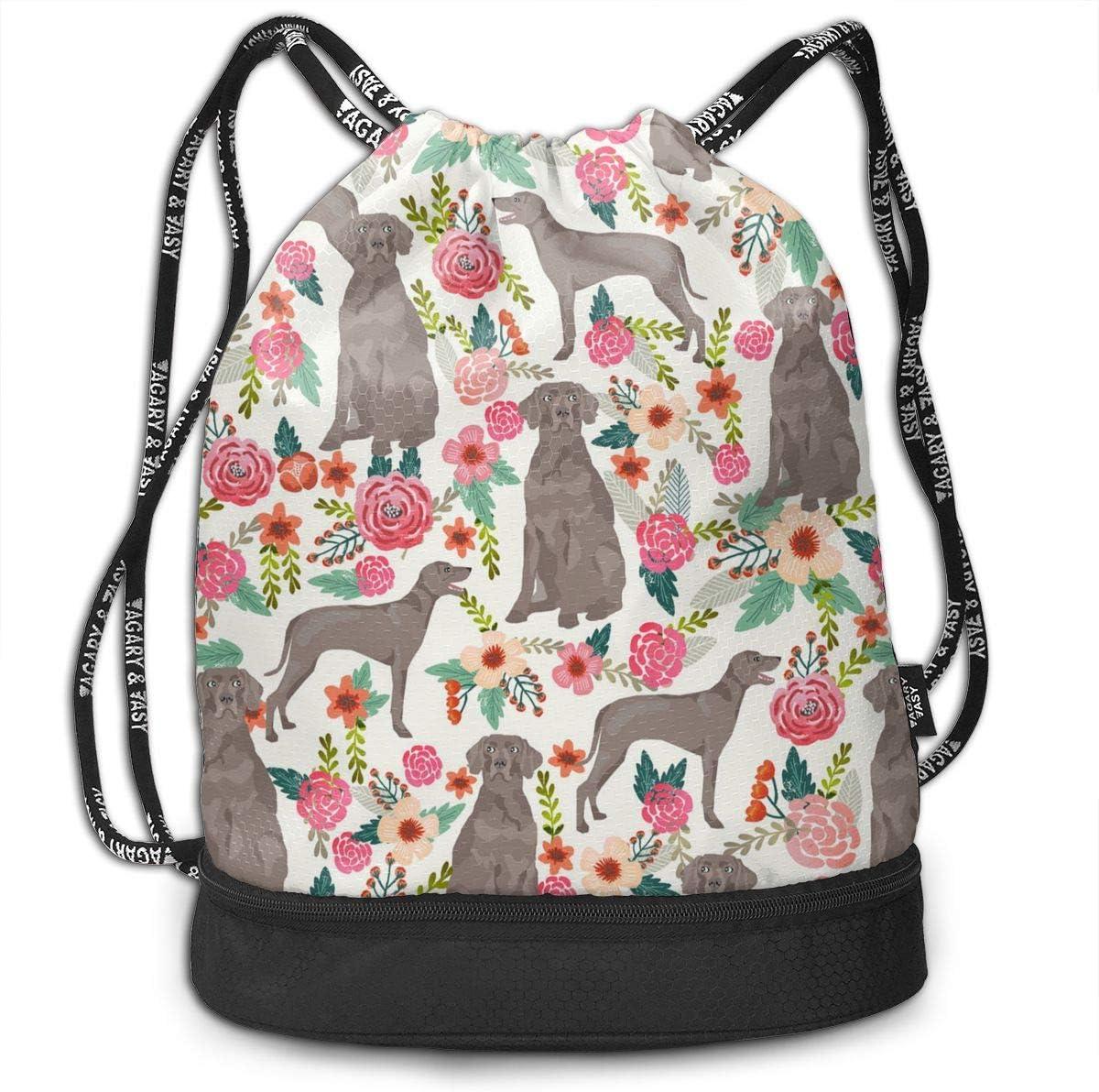 HUOPR5Q Dog Drawstring Backpack Sport Gym Sack Shoulder Bulk Bag Dance Bag for School Travel