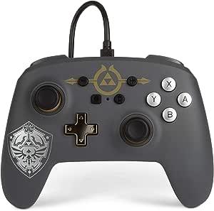 Powera 1518384-01 Controle P/ Nsw Wired Controller Zelda - Hylian Shield - Nintendo Switch