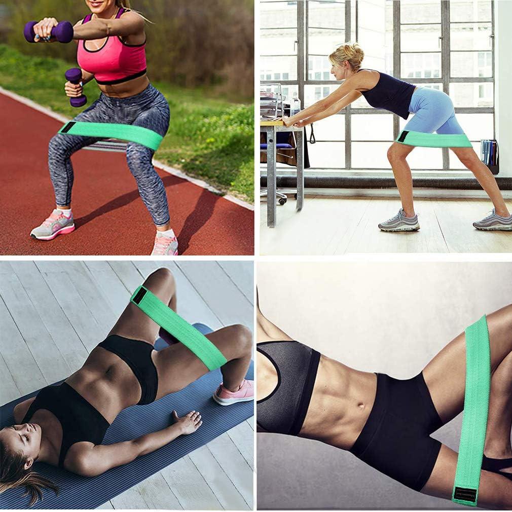 Danza Allenamento Fitness Borstu Loop Bands Resistance Hip Bands 1 Pezzo di Fasce di Resistenza per Stretching Muscolare Yoga