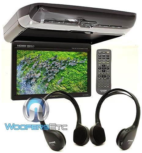 Alpine PKG-RSE3HDMI Overhead Flip Down WSVGA Monitor