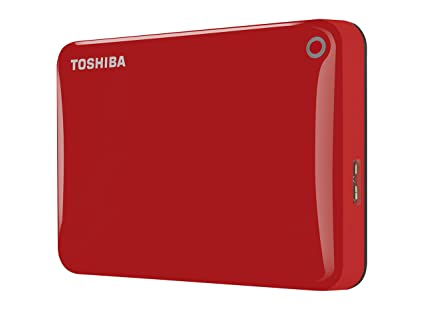 47c3537b7 Image Unavailable. Image not available for. Colour  Toshiba Canvio Connect  II 1TB Portable External Hard Drive 2.5 Inch USB 3.0 ...