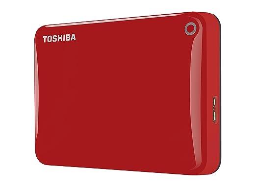 81 opinioni per Toshiba HDTC810ER3AA Canvio Connect II HDD Esterno da 1TB, Rosso