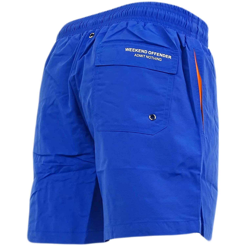 bcc90e0492 Amazon.com: Weekend Offender Swim Shorts - Blueblood Blue: Clothing