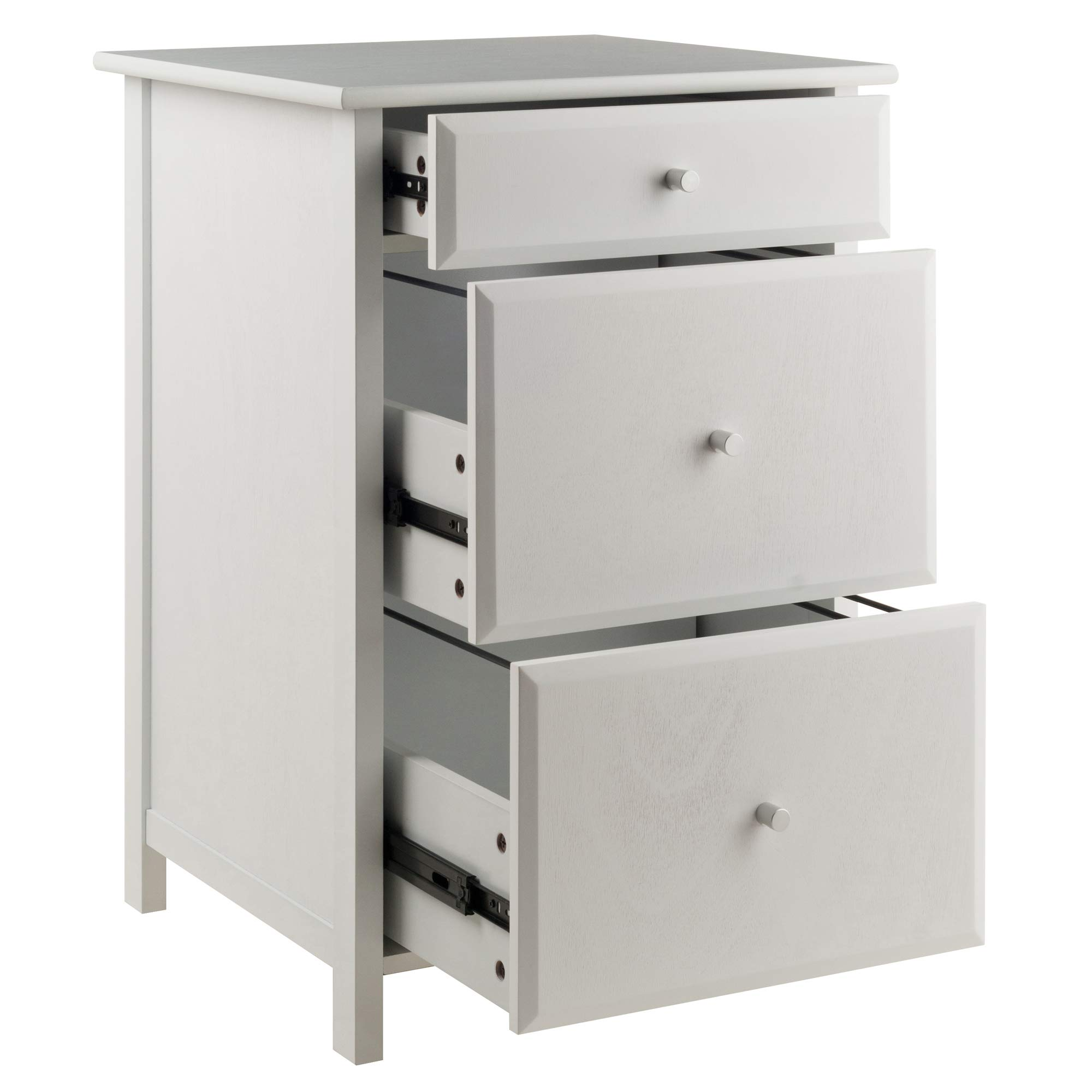 Winsome Wood 10321 Delta File Cabinet White Home Office, by Winsome Wood (Image #3)