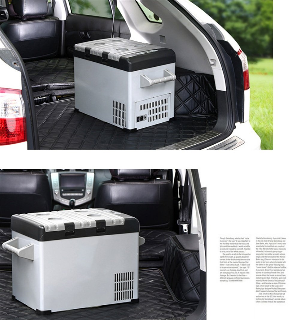 Amazon.es: SHISHANG Refrigerador del Coche del Grado 32L-18/refrigerador del Coche del compresor/refrigerador al Aire Libre Que congela, Uso Dual del hogar ...