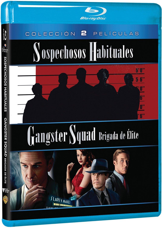 Pack: Gangster Squad Brigada De Élite + Sospechosos Habituales Blu-ray: Amazon.es: Sean Penn, Ryan Gosling, Robert De Niro, Ray Liotta, Ruben Fleischer, Martin Scorsese, Sean Penn, Ryan Gosling, Dan Lin, Irwin Winkler: