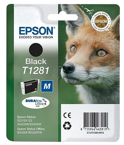 Epson Cartucho T1281 Negro - Cartucho de Tinta para ...