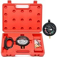 FreeTec Vacuómetro Manómetro Comprobador de Presión y Vacío
