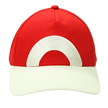5cadf913a8f Pokemon Ash Ketchum Hat Adjustable Baseball Cap New Deluxe Cosplay Costume  Accessory Xcoser A
