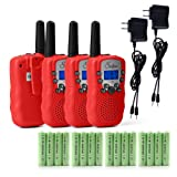Amazon Price History for:Swiftion T-388 Kids Walkie Talkies 22 Channel 0.5W FRS/GMRS 2 Way Radios with Charger and Rechargeable Batteries (Red, Pack of 4)