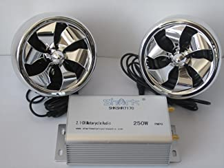 Shark Motorcycle Audio 250W 2 Speakers